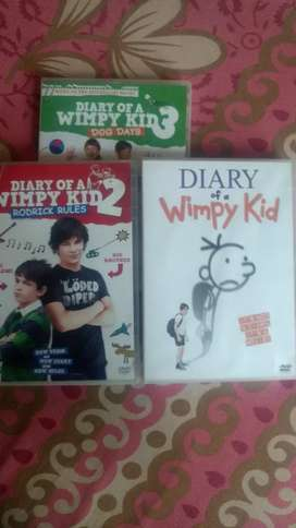 Diary of a wimpy kid dvd's