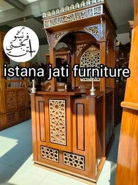 Mimbar masjid Mimbar khutbah Jum'at