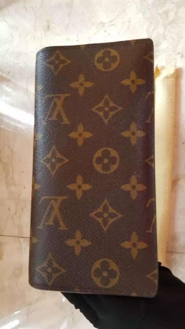 Louis Vuitton Brazza monogram wallet 2014 0