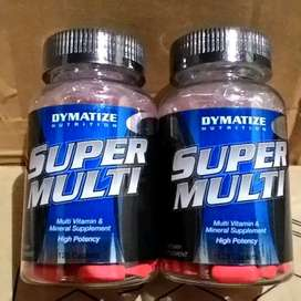 Dymatize Super Multi 120 Tablet Multivitamin Mineral Dosis Tinggi.