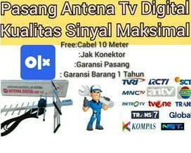Agen Jasa Instalasi Pasang Baru Antena Tv Dan Parabola
