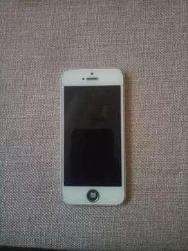 Hp apple/ iphone 5 bekas