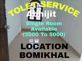 Single Room (3000 To 5000) Available Near Bomikhal Area