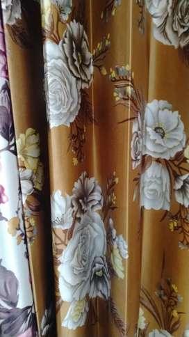 Curtains fabric