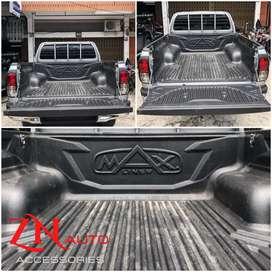 Bed liner atau lapisan bak mobil hilux DC lapisan bak lebih aman