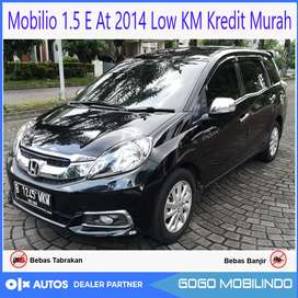 [Dp18jt] Mobilio 1.5 E At 2014 /2015 Low KM Kredit Murah