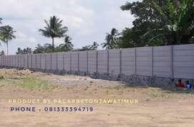 Pagar beton panel / precast