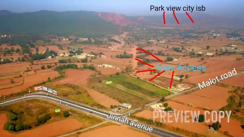 5 Marla Plot For Sale In Park View City 0