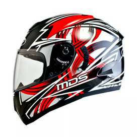 Helm mds victory black red
