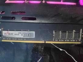 4GB DDR4 ram 2400mhz