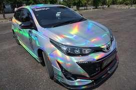 Toyota New Yaris Holographic Chrome