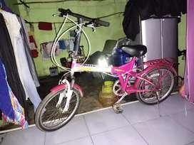 Sepeda lipat yg nyaman di pakai