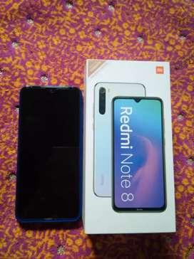 Dijual redmi note 8 atau Bt sama iphone 6s