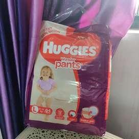 Huggies Pants Style Diaper 64 pieces L size