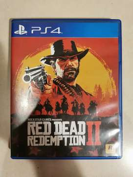 BD PS4 Red Dead Redemption II
