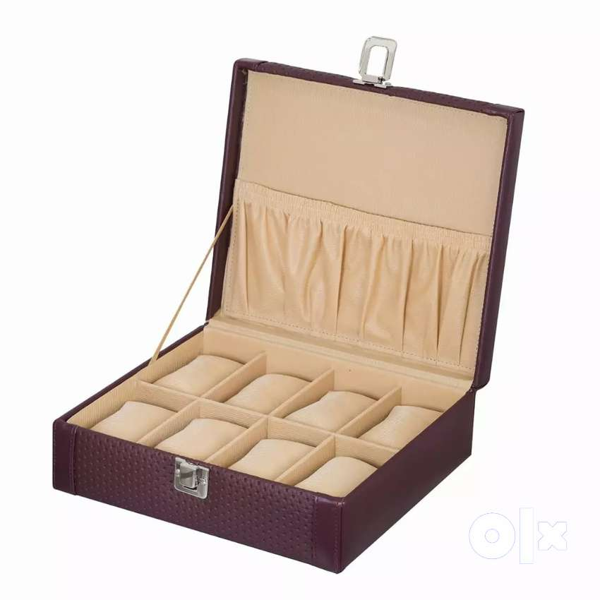High quality leather watch box for personal use & gift purpose  @ 649 0