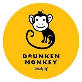 Drunken Monkey - Staffs required(Male & Female)