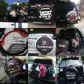 Cover Ban Mobil Taruna-Taft Terios SARUNG BAN RUSH CR-V waterproof ass
