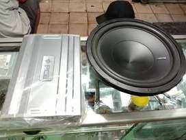 Paketan brands power PCA 4 channel + Hertz subwoofer 12 inch