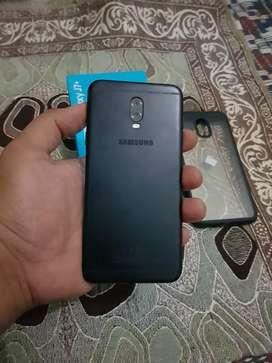 Samsung j7 plus black ram 4 fulsed