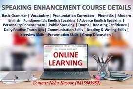 Online English classes for Speaking Enhancement