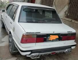 1984 corolla good condition efi engine servo breaks