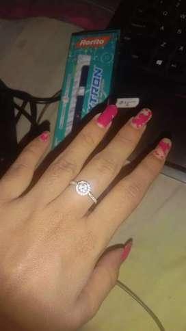 German white gold ring