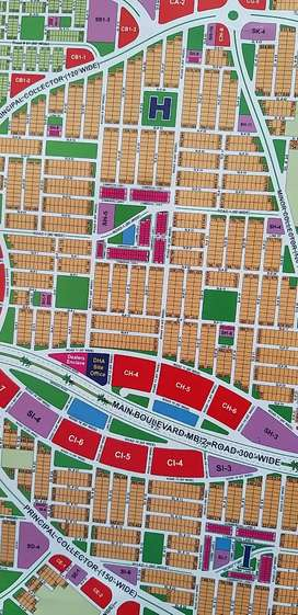 Dha multan  1 knal plots are avaibale in all sectors