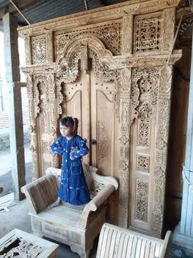 fida pintu gebyok gapuro jendela untuk rumah gedung masjid musholla