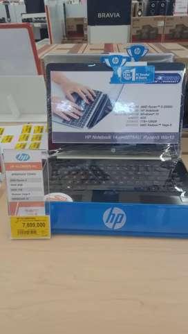 HP Notebook 14-cm0078AU Ryzen5 Win10 bisa dicicil Tanpa kartu kredit