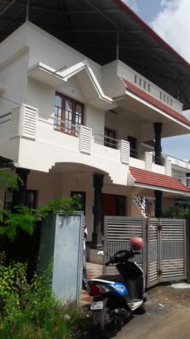 Fully Furnished house in Maradu in posh residential area