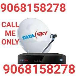 Tata sky HD Airtel Videocon Dish