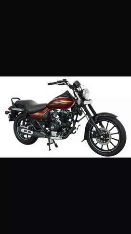 Bajaj avenger on rent (daily basis -)