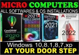 ALL SOFTWARES:ADOBE CC 2021(Full Pack Win&Mac)AutoCAD,Send Via DROPBOX