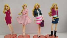 Barbie collection @ Mattel, ada 6 character figures, bagus semua