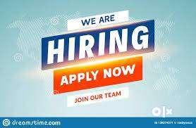 Urgent hiring for female receptionist 0