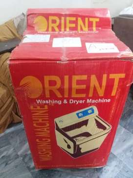 Orient washing machine and Dryer