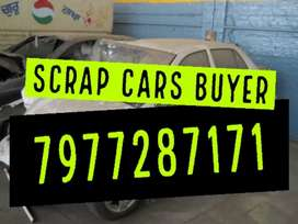 SCRAP CARS WE BUY.