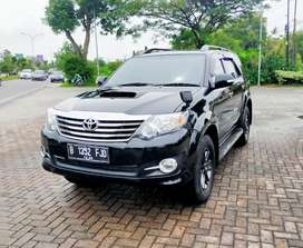 Fortuner G VNT Turbo thn 2015 Matic Km 29rb Record