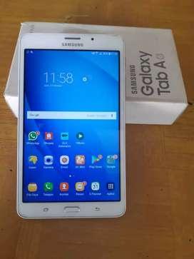 Samsung a tab fulset 4G LTE normal smua(tuker tambah boleh)