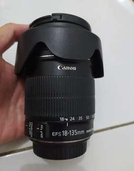 Lensa Canon 18-135M IS