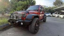 Jeep Wrangler Rubicon 4X4 Kondisi Istimewa ( Khusus Batam )
