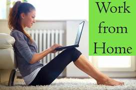 Typing job for everyone on daily basis salary. 7385