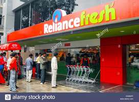 Urgent Requirement for Reliance mall sales executive in Ranchi