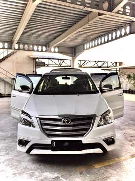 Innova E up G 2014 matic bensin KM 60rb record