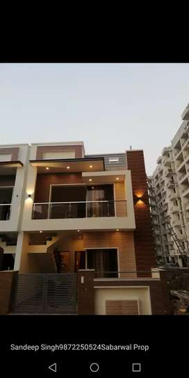 Ultra Modern Beautifully Built 3bhk independent kothi