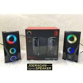 Speaker RS 200 Robot | Speaker Gaming RGB Robot