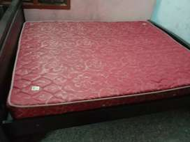 Spring mattress and 6*6 bed