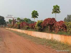 Beside GIET Engg College - 440 Sq. Y. South East Corner Plot