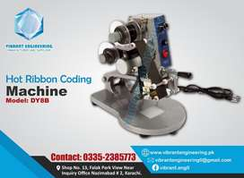 Hot Ribbon coding printer for expiry date, Sealing and Packing Machine